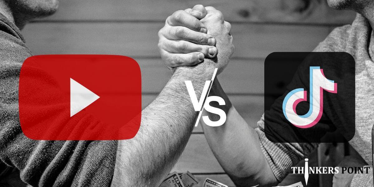 Tiktok vs Youtube War 2020