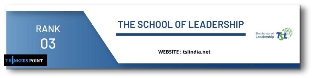 rank 3 top leadership institute in banglore