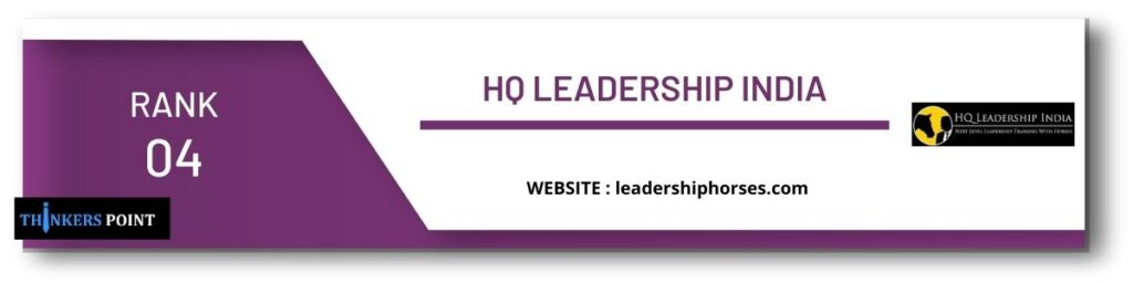 rank 4 top leadership institute in chennai