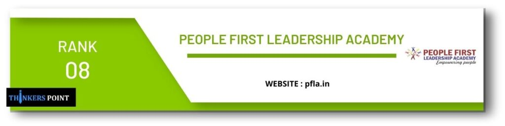 rank 8 top leadership institute in banglore