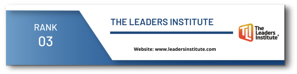 rank 3 top leadership institute in hyderabad
